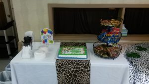 Cake & Snack Table